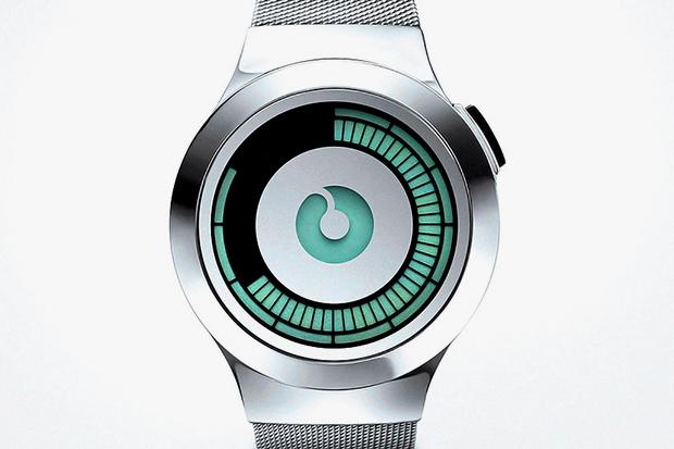Image of ZIIIRO Saturn Silver Watch