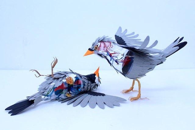 Image of 3D Bird Sculptures by Diana Beltran Herrera