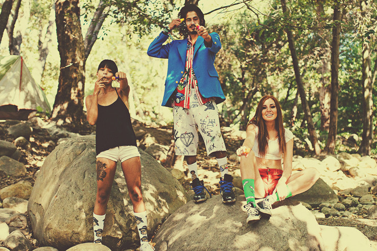 "Image of 40s & Shorties 2014 Summer ""Gone Camping"" Lookbook"