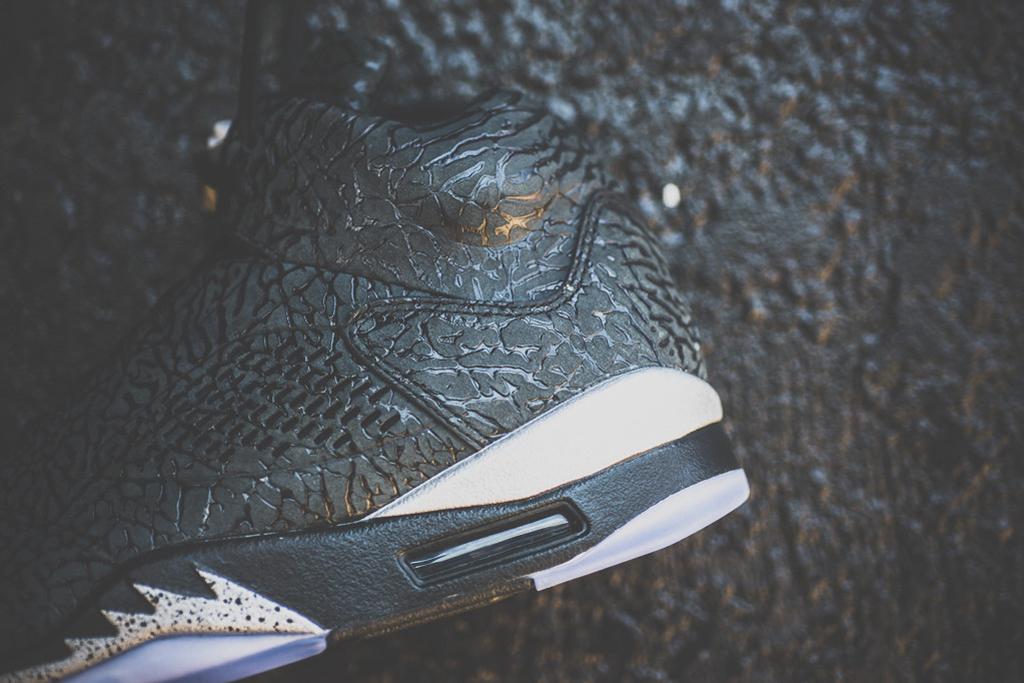 Image of A Closer Look at the Air Jordan 3Lab5 Black/Metallic Silver