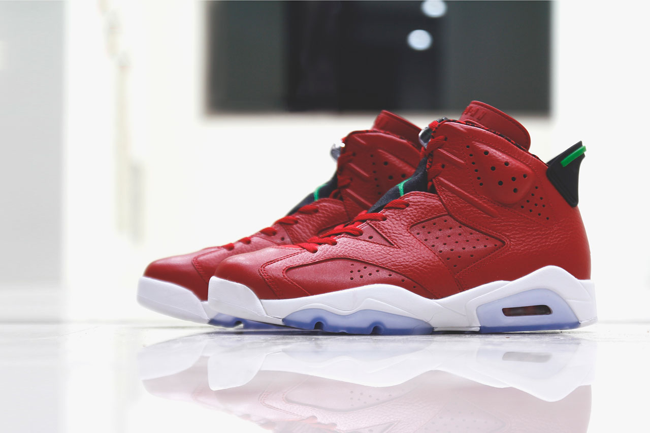 "Image of A Closer Look at the Air Jordan 6 Retro ""Spizike"""