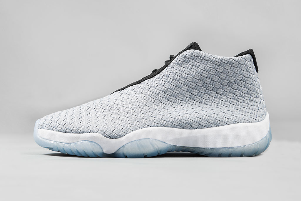 "Image of A Closer Look at the Air Jordan Future Premium ""Metallic Silver"""