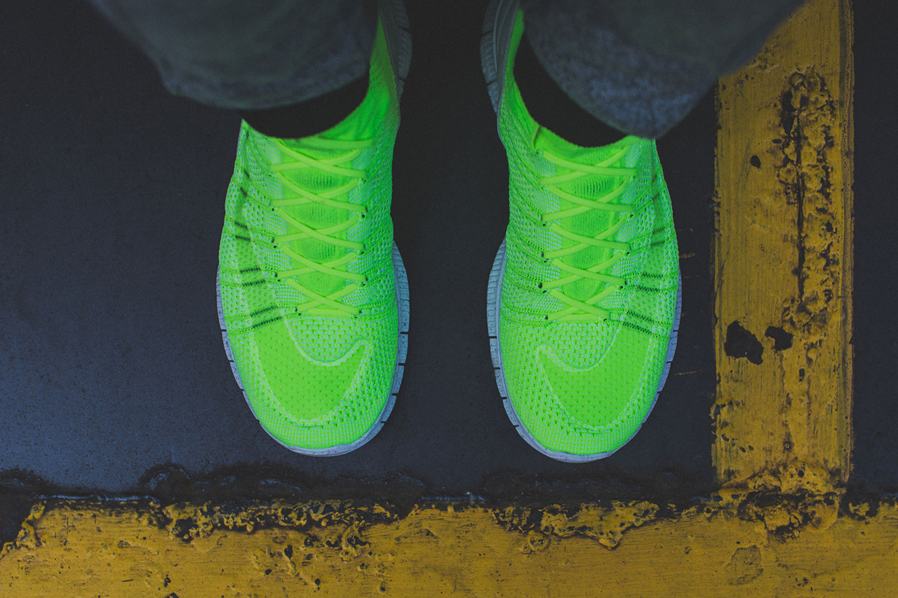 "Image of A Closer Look at the Nike Free Mercurial Superfly HTM ""Volt"""