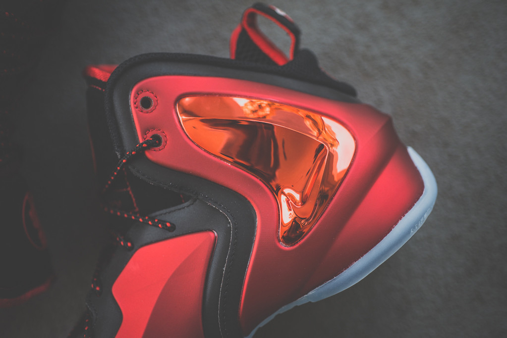 "Image of A Closer Look at the Nike Lil Penny Posite ""University Red"""