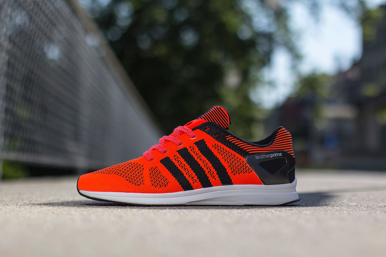 "Image of adidas adizero Feather Primeknit ""Solar Red"""