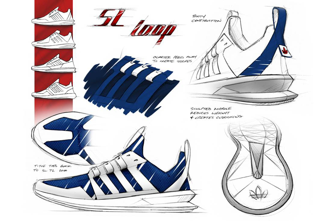 Image of adidas Originals Design Director Brian Foresta Discusses the SL Loop Runner