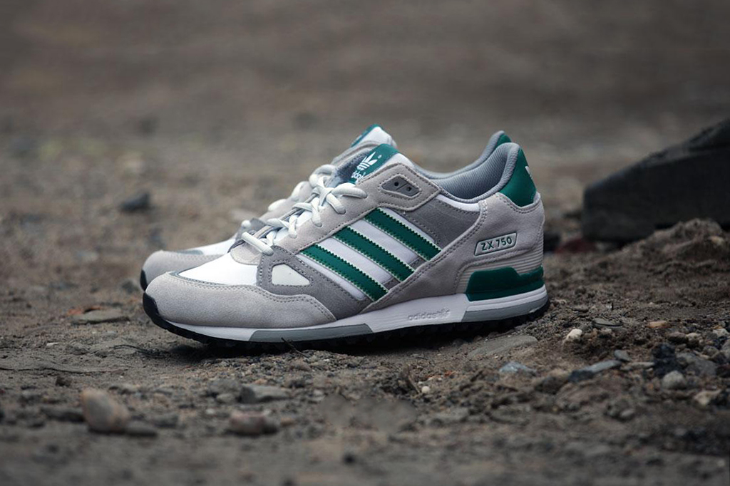 Image of adidas Originals ZX 750 EQT White/Green