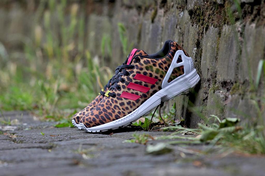 "Image of adidas Originals WMNS ZX FLUX ""Leopard"""