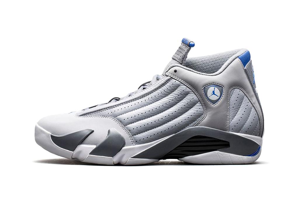 """Image of Air Jordan 14 Retro """"Wolf Grey"""""""