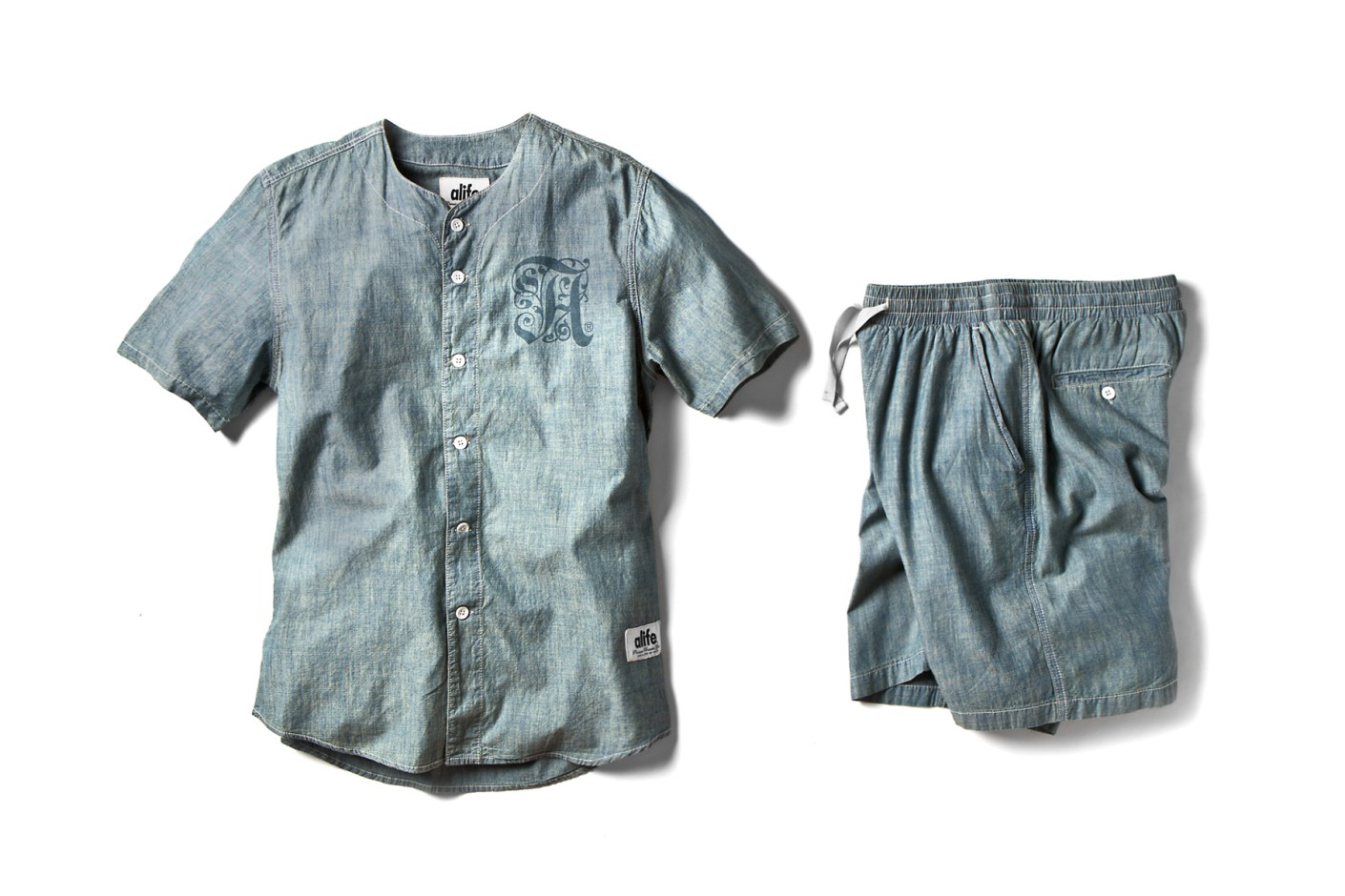 "Image of ALIFE 2014 Summer ""Prison Blue"" Baseball Collection"