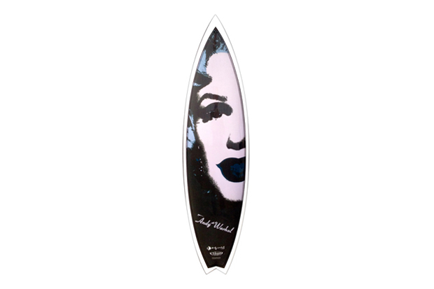 "Image of Andy Warhol Foundation x Tim Bessel Surfboards ""Marilyn"" Surfboard Collection"