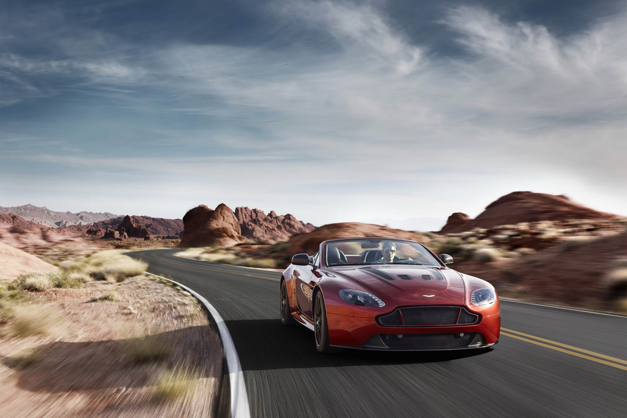 Image of Aston Martin Debuts the New Vantage S V12 Roadster