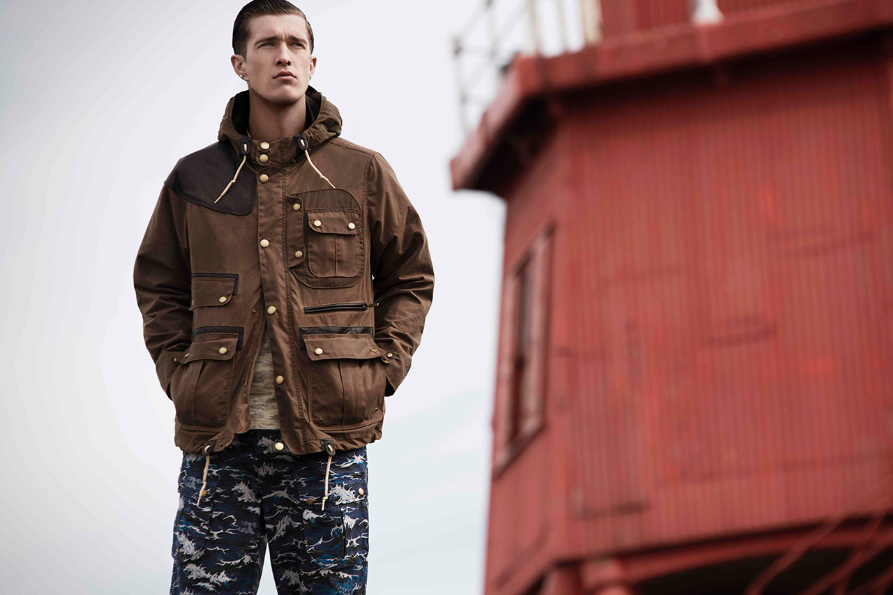 Image of Barbour x White Mountaineering Teaser