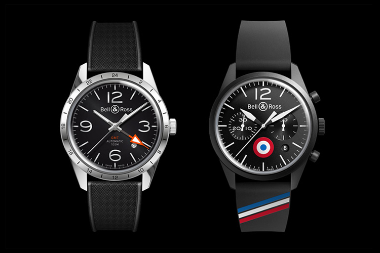 Image of Bell & Ross Vintage BR 123 GMT & 126 Insigna