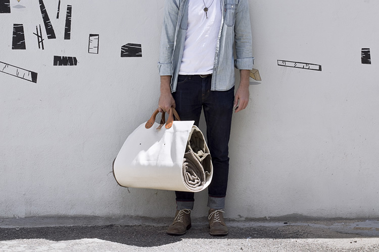 Image of CampWell x Winter Session Log Tote