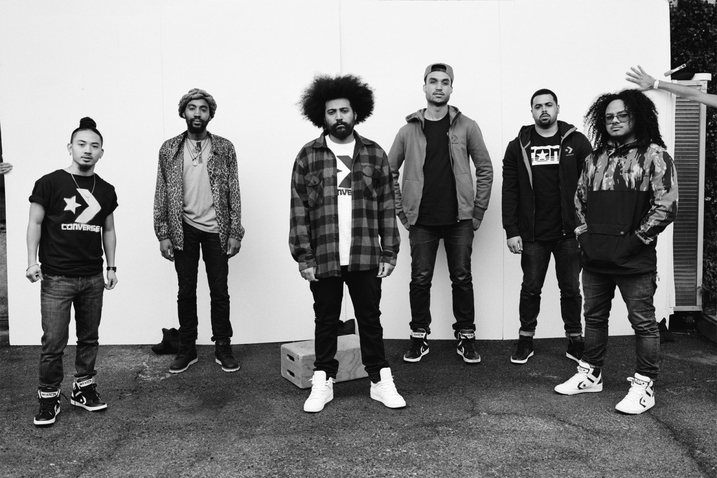 Image of Converse CONS Talks Music, NYC and Style with World's Fair