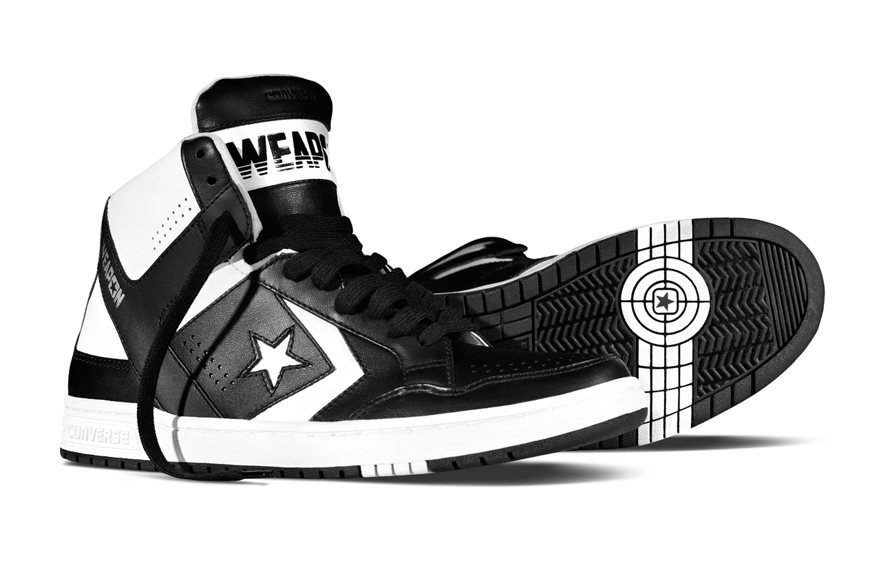 Image of Converse Fall/Winter 2014 CONS Weapon Black/White