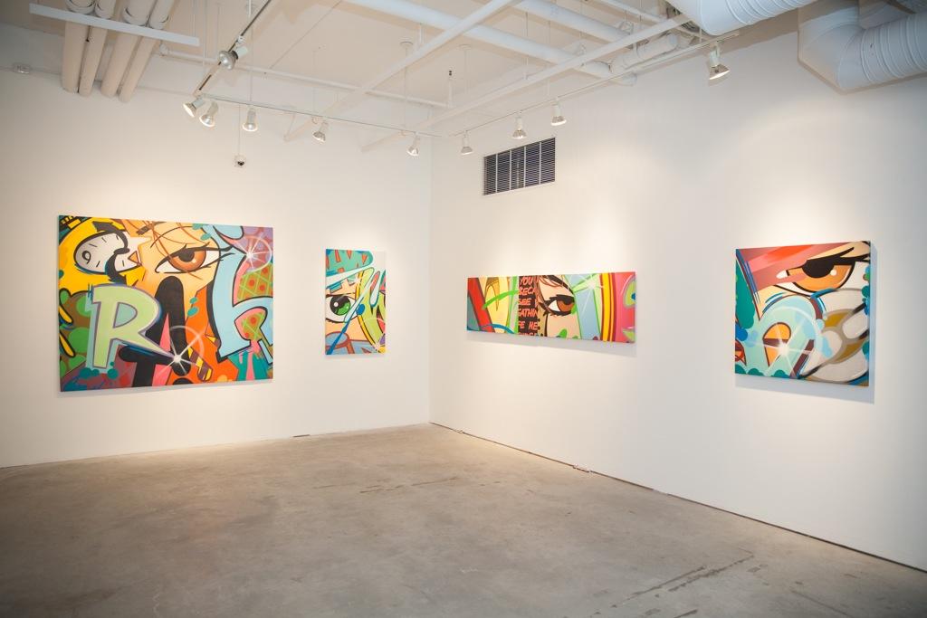"""Image of CRASH """"Broken English"""" Exhibition @ Jonathan LeVine Gallery Recap"""