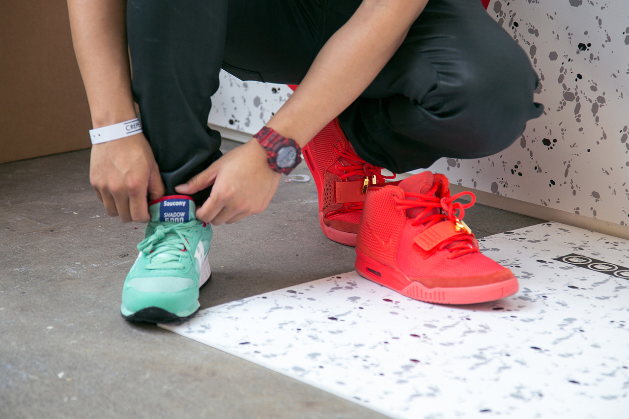 Image of Crepe City 11 Sneaker Festival Laces The Streets of London