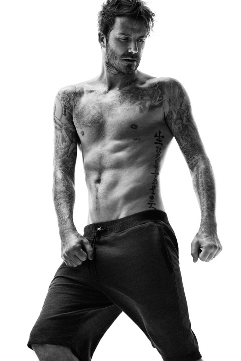 Image of David Beckham for H&M 2014 Fall Bodywear Collection