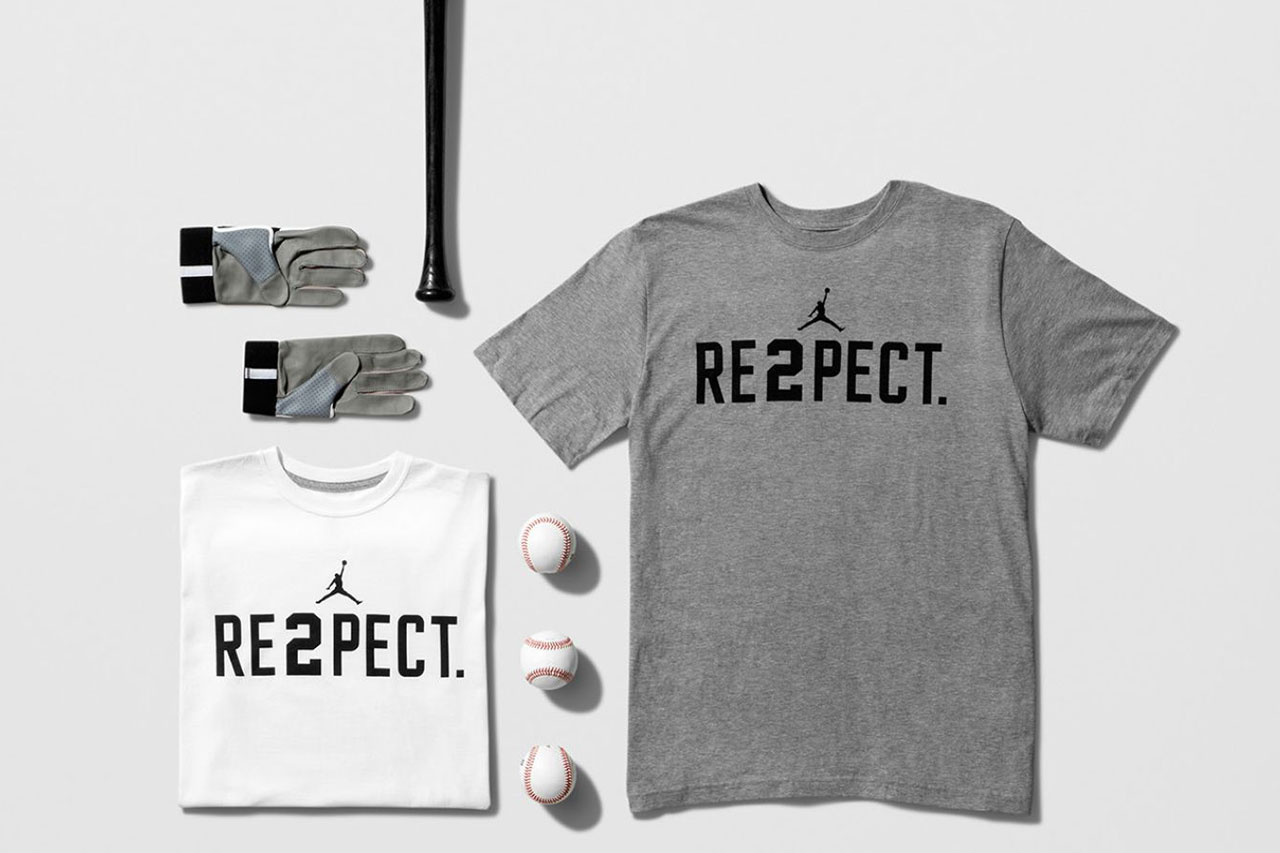 "Image of Derek Jeter ""RE2PECT"" Collection"