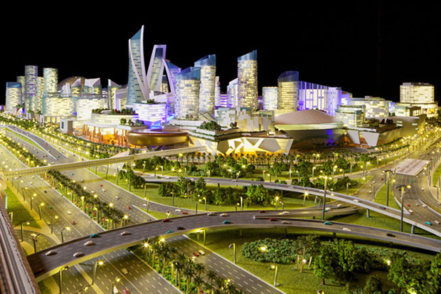 Image of Dubai to Build the World's First Temperature Controlled City