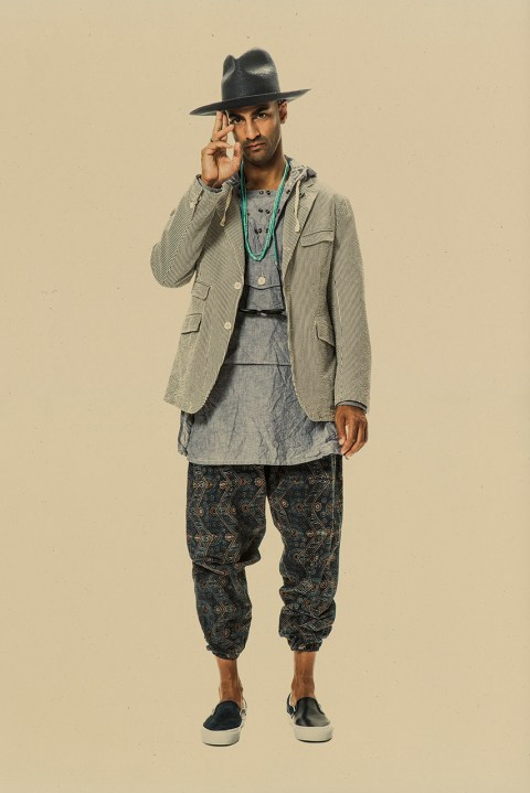 Image of Engineered Garments 2015 Spring/Summer Lookbook