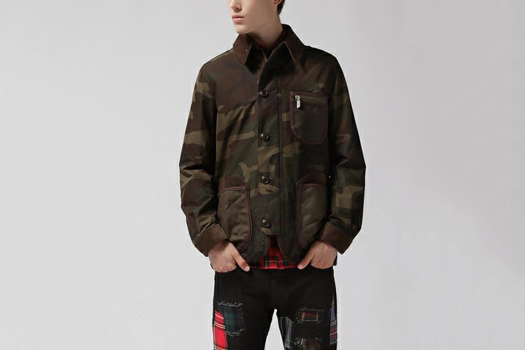 Image of eYe Junya Watanabe MAN x The North Face Camouflage Jacket