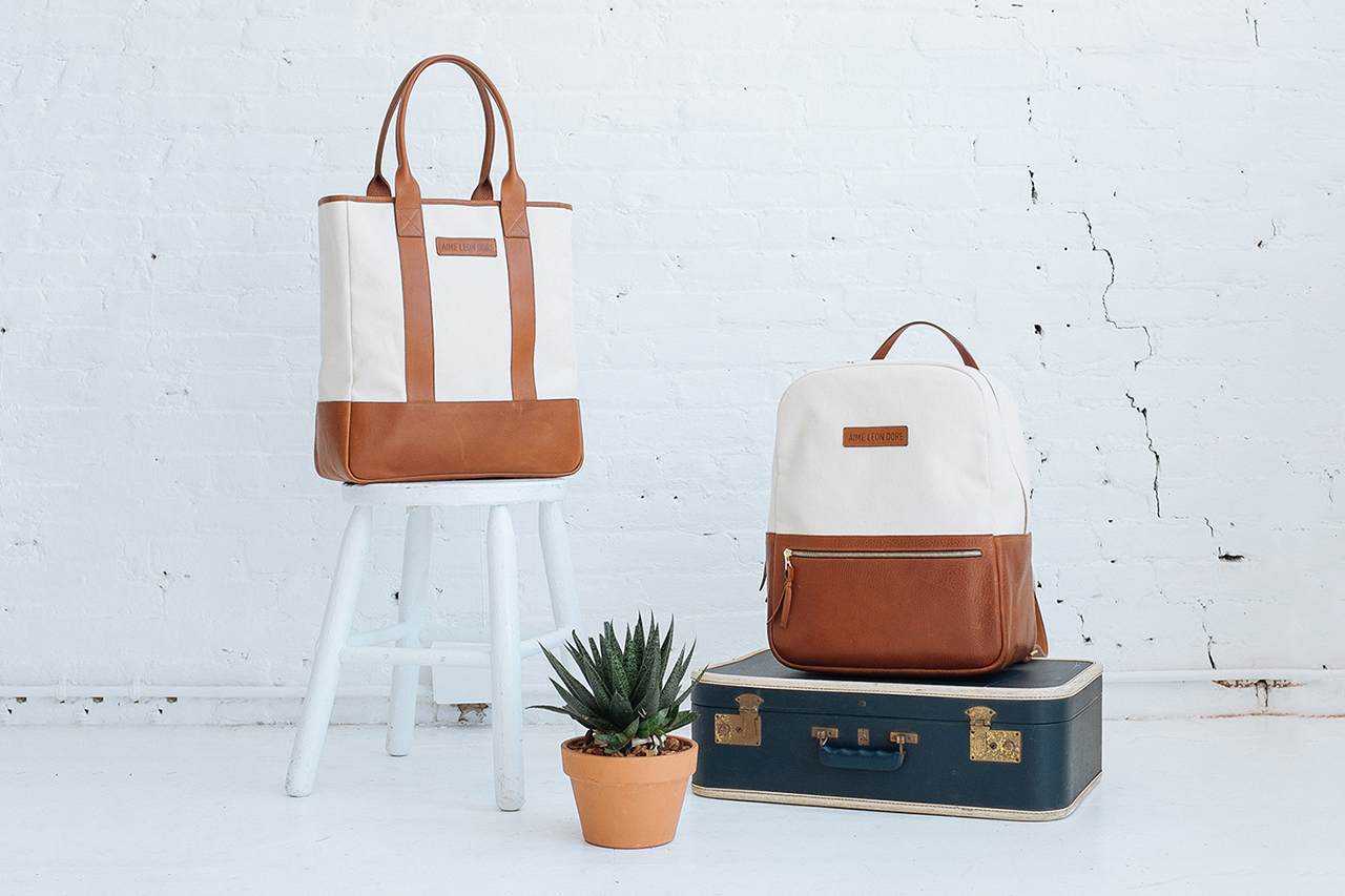 Image of Frank Clegg x Aimé Leon Dore 2014 Summer Bag Collection