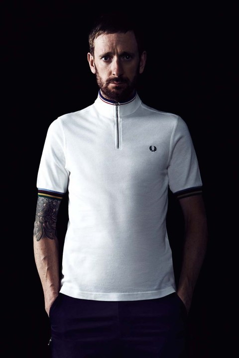 Image of Fred Perry 2014 Fall/Winter Sir Bradley Wiggins Collection