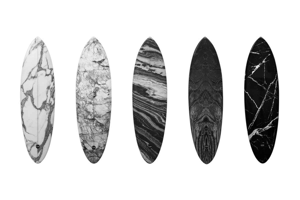 Image of Alexander Wang x Haydenshapes Hypto Krypto Marble Surfboards