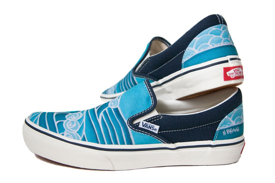 Image of Heather Brown x Vans Classic Slip-On