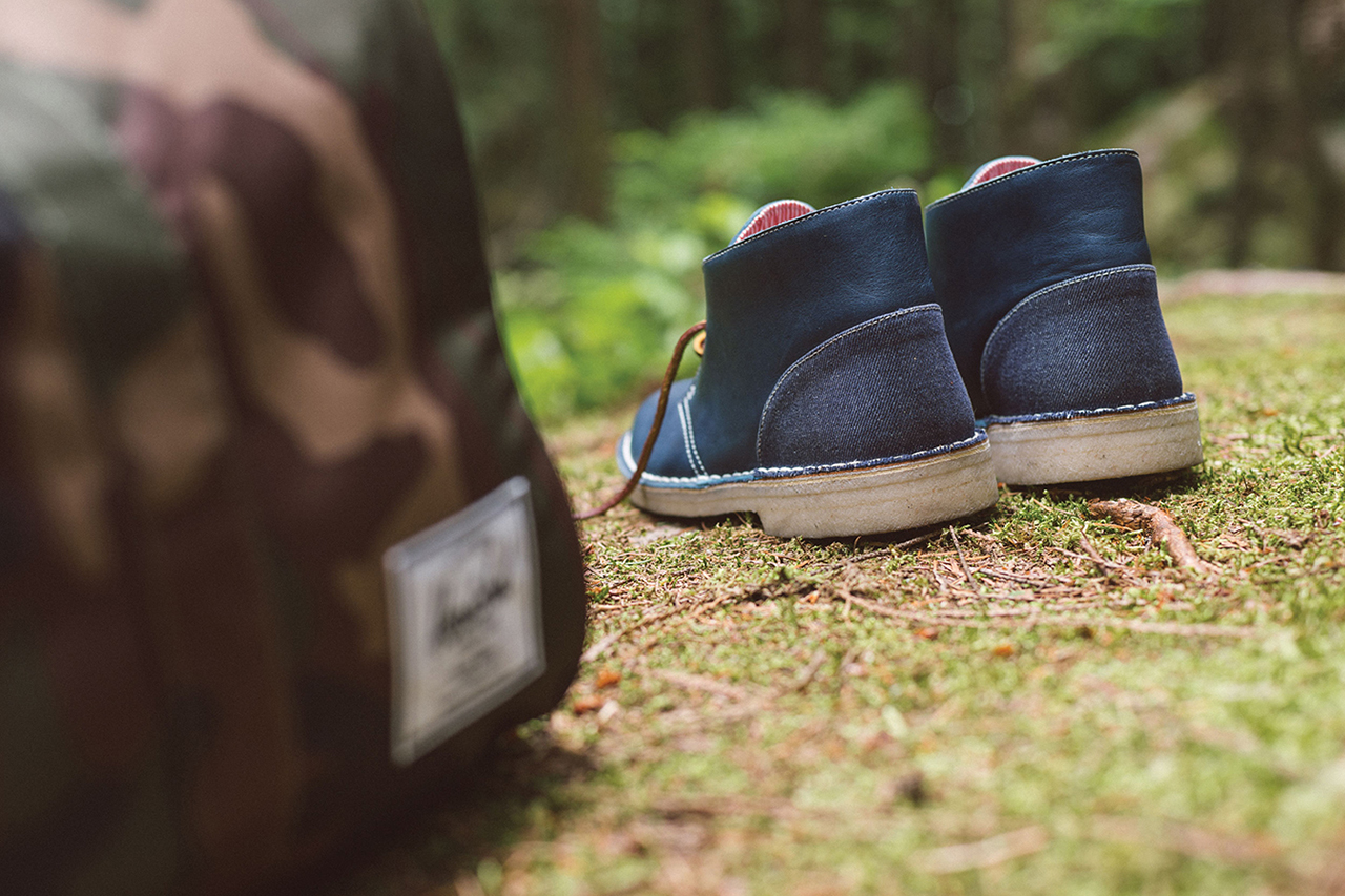 Image of Herschel Supply Co. x Clarks Originals 2014 Fall/Winter Desert Boot