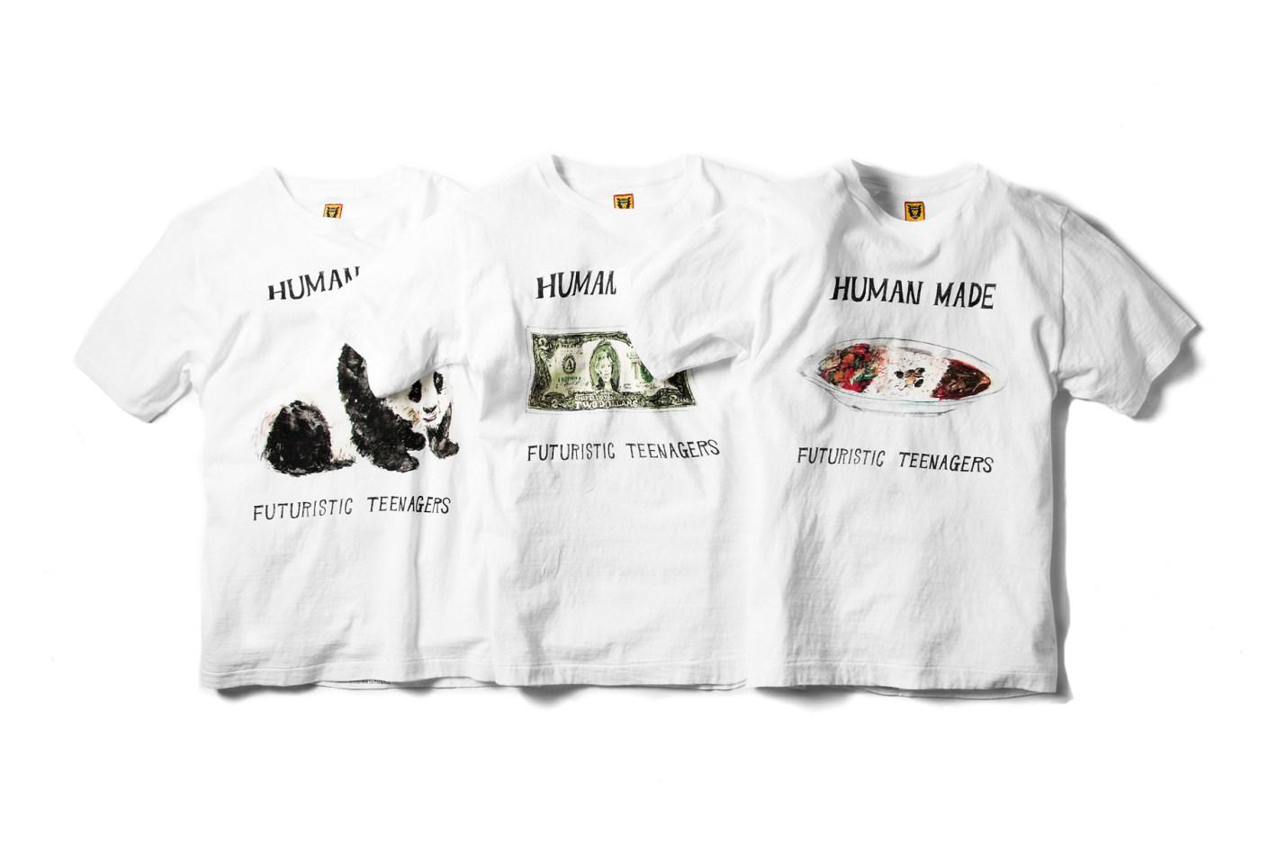 Image of HUMAN MADE 2014 Summer T-Shirts