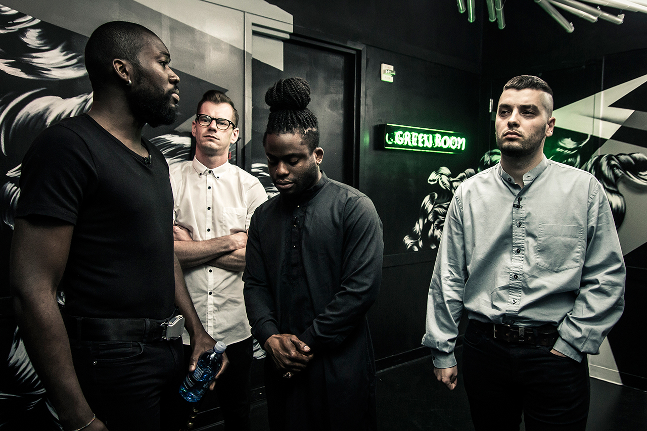 Image of HYPETRAK Presents #OnTheClock with Young Fathers