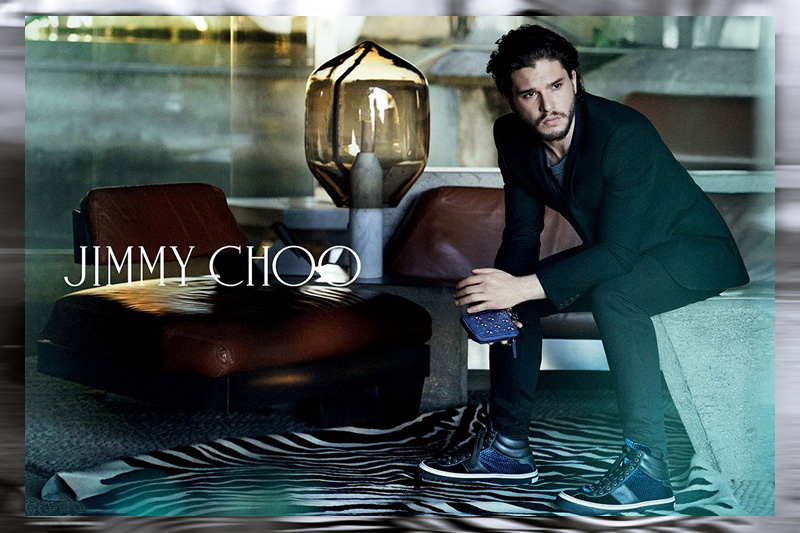 Image of Jimmy Choo 2014 Fall/Winter Campaign featuring Kit Harington