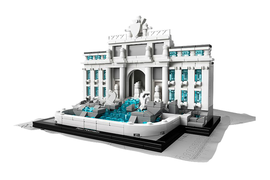 Image of LEGO® Architecture Landmark Series Trevi Fountain