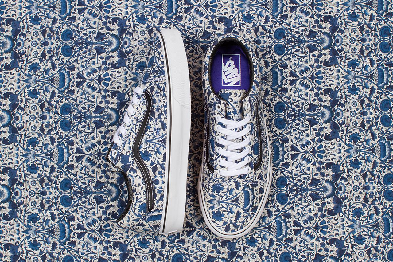 Image of Liberty Art Fabrics x Vans 2014 Fall Collection
