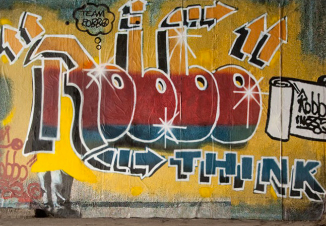 Image of London Grafitti Legend King Robbo Has Passed Away
