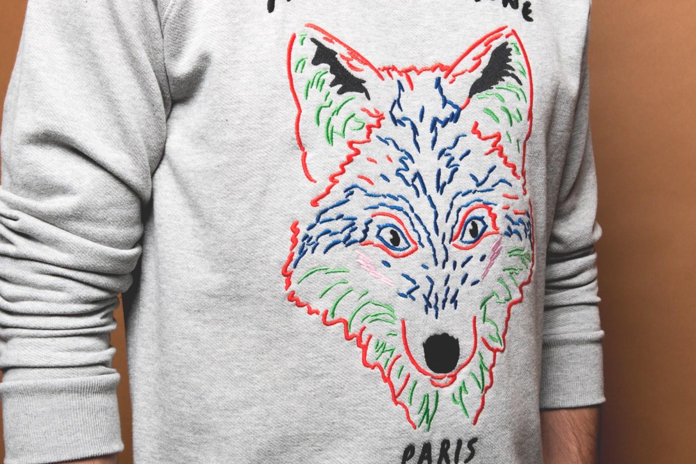 Image of Maison Kitsuné 2014 Fall/Winter Fox Sweaters