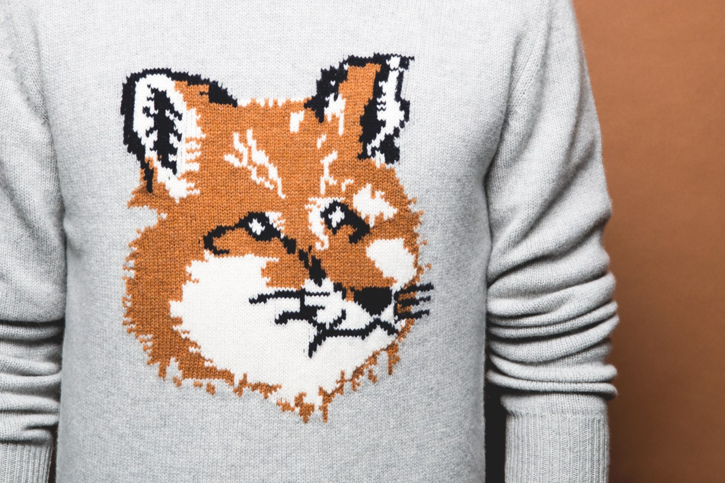 Image of Maison Kitsuné 2014 Fall/Winter Fox Sweaters