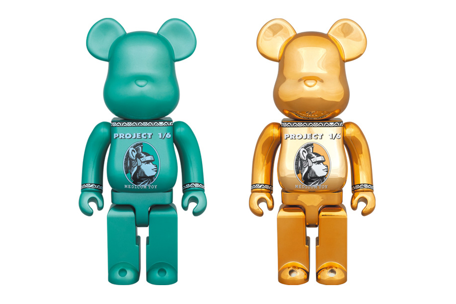 "Image of Medicom Toy 2014 ""Centurion"" 400% Bearbricks"