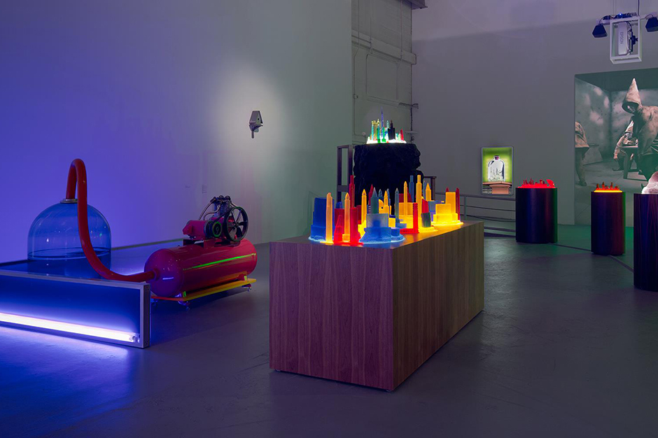 Image of Mike Kelley Installation @ The Geffen Contemporary at MOCA