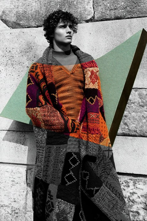Image of Missoni 2014 Fall/Winter Campaign