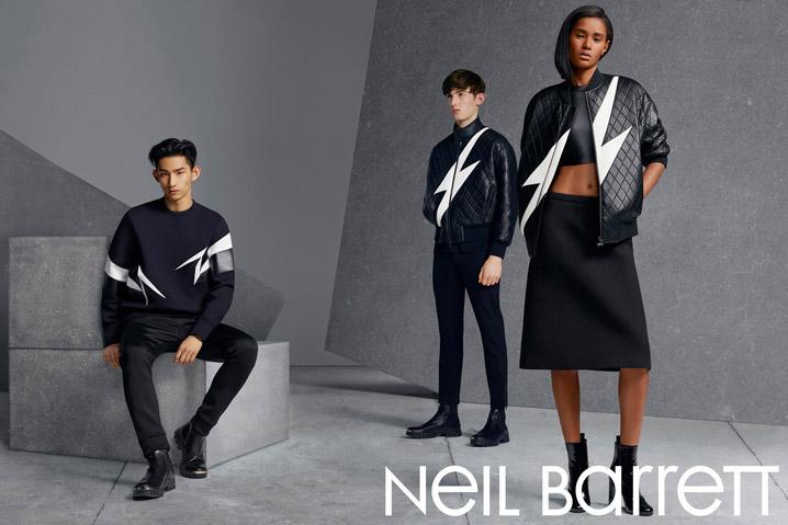 Image of Neil Barrett 2014 Fall/Winter Campaign