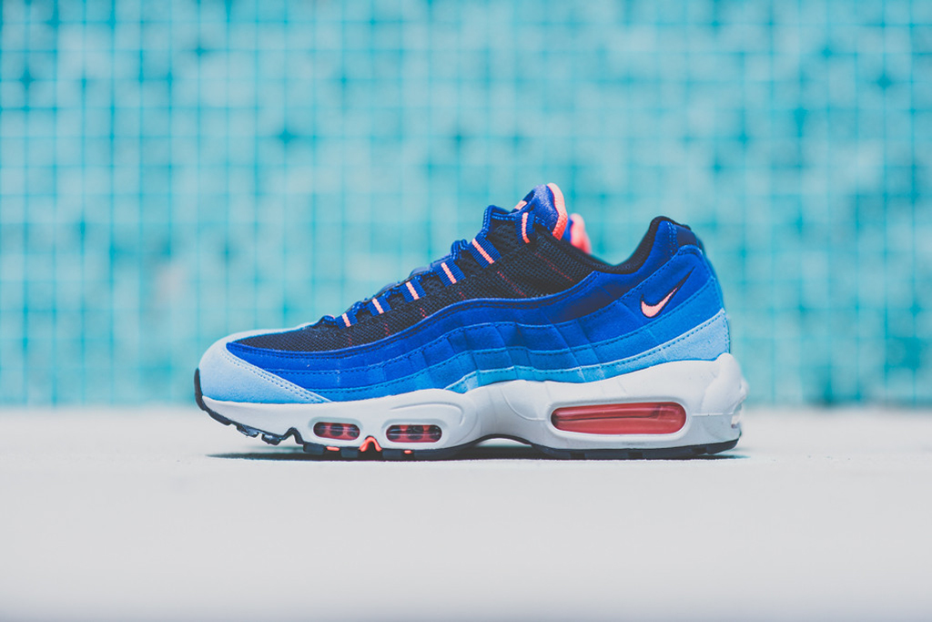 Image of Nike Air Max 95 University Blue/Bright Mango