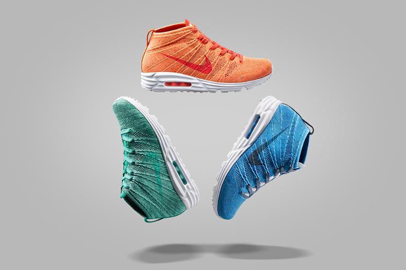 Image of Nike Air Max Lunar90 Flyknit Chukka