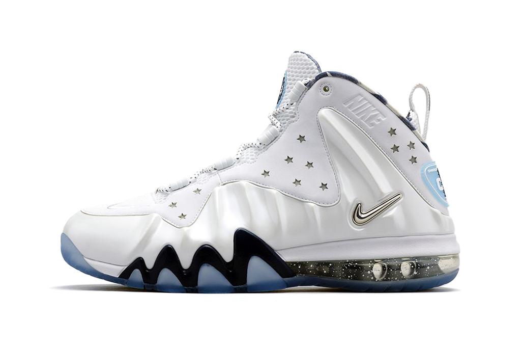Image of Nike Barkley Posite Max White/Metallic Silver