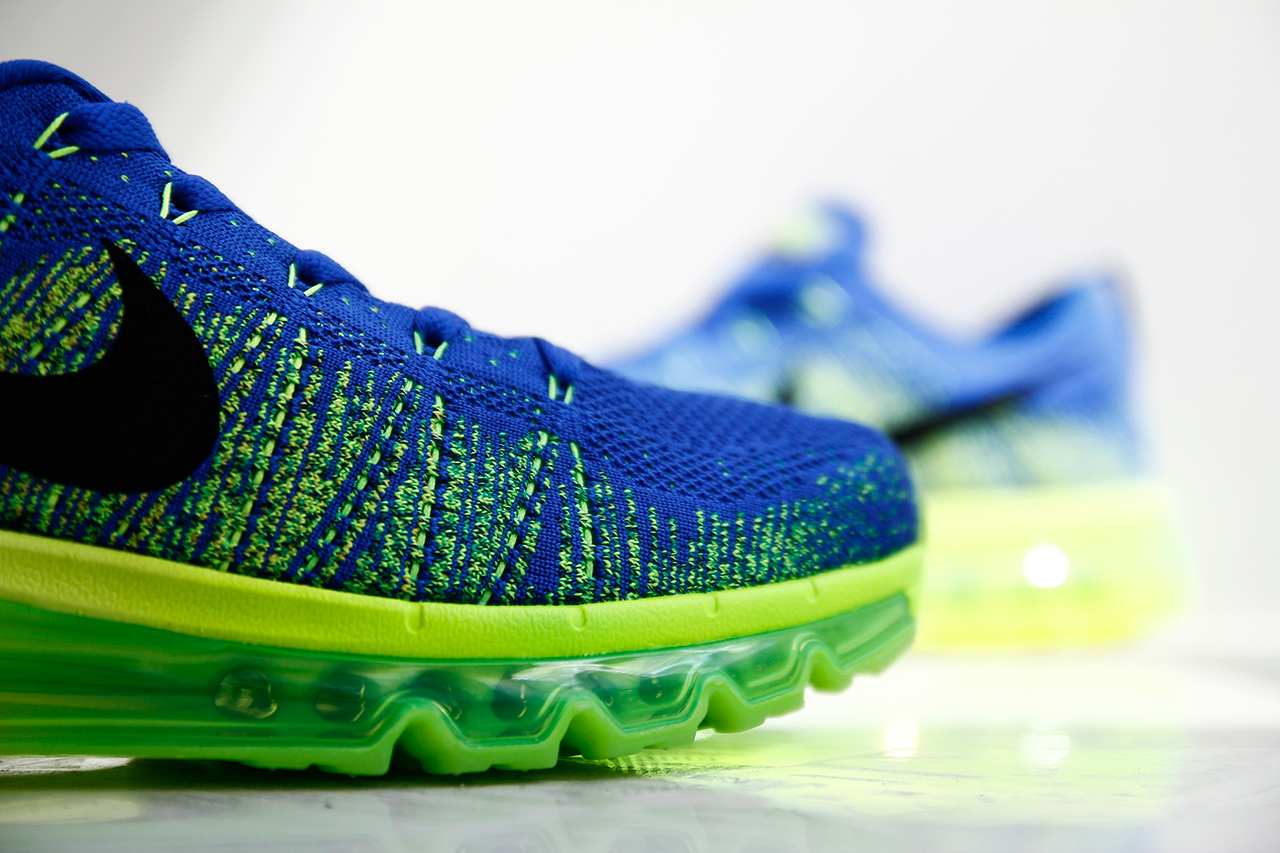 """Image of Nike Flyknit Air Max """"Sprite"""""""