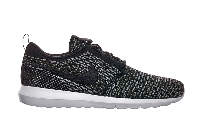 Nike flyknit roshe run nm black grey hypebeast